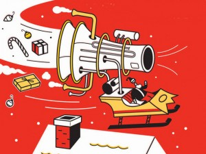 The Truth About Santa: Wormholes, Robots and What Really Happens on Christmas Eve (courtesy of Bloomsbury USA)