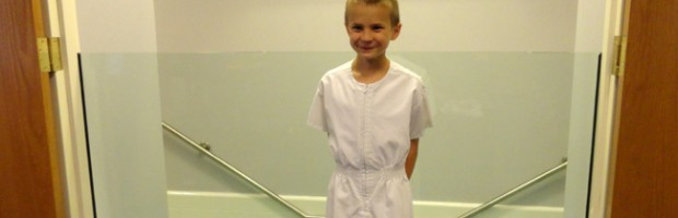 Dominic Codella's baptism