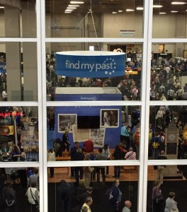 RootsTech 2015 exhibition hall
