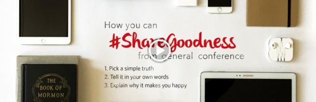 #ShareGoodness