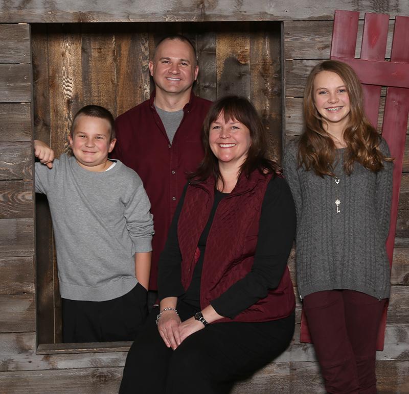 Pete & Vickey Codella family - Dec. 2015