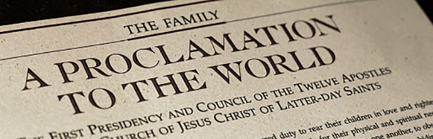 the family - a proclamation to the world