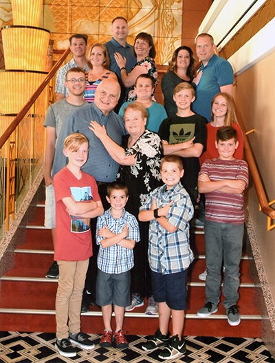Pete & Madeline Codella family - July 2018